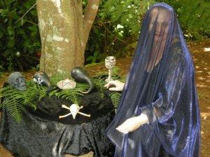Crone altar