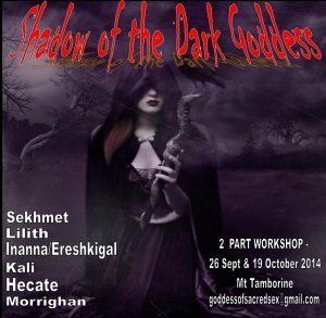 Shadow of the Goddess flier oct