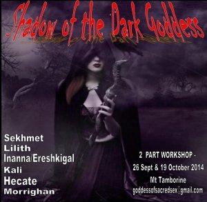 Shadow of the Goddess flier oct