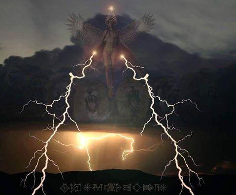 lightning inanna